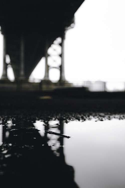 Puddle under a Bridge