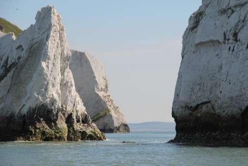 scenery coast coastal sea cliffs