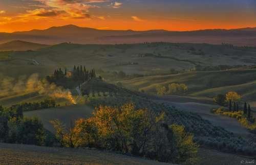 countryside Italy scenic scenery Europe