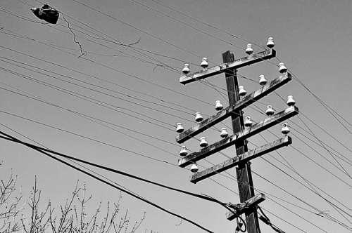 post fios telefone energia fiação Los Cabos