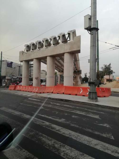 Bridge construction CDMX