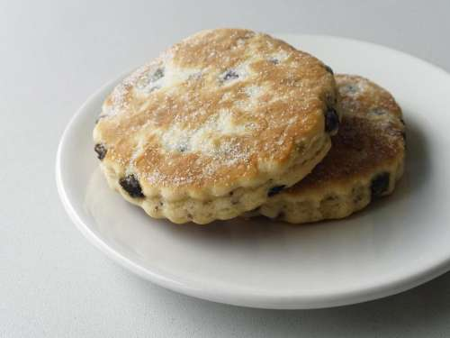 food sweet Welsh cakes butter spices