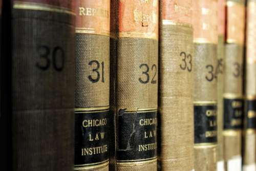 library books law books chicago bindings