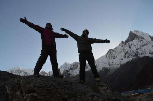Team  teamwork people Nepal friends