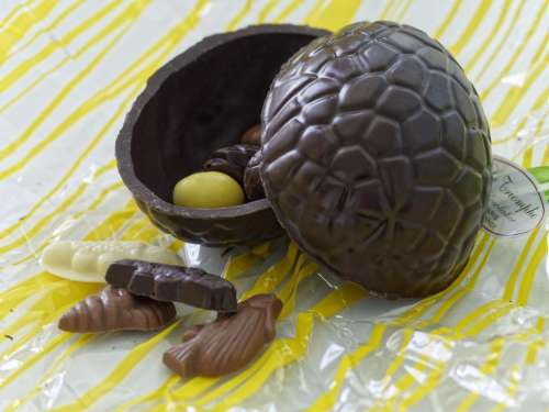 food sweet chocolate chocolate Easter Egg white chocolate fish