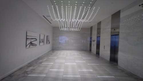 Mall Elevator Vestibule