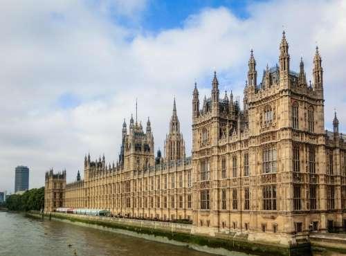 London England Parliament Westminster buildings