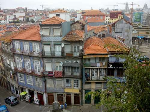 city Porto Portugal Europe street