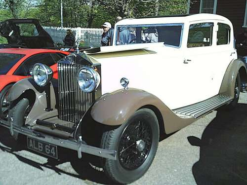 Antique Rolls Royce Show Car