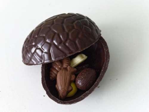 food sweet chocolate chocolate Easter Egg white chocolate fish