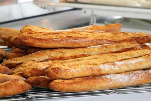 baguette  French bread  bake  flour  bread