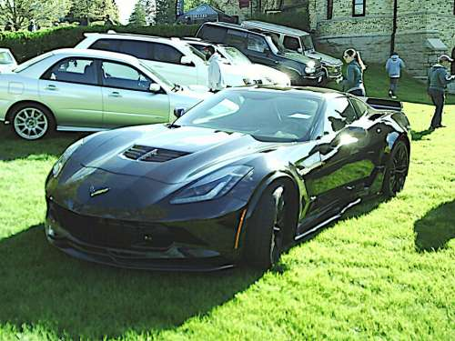 Chevy Chevrolet Corvette Z06 Bow