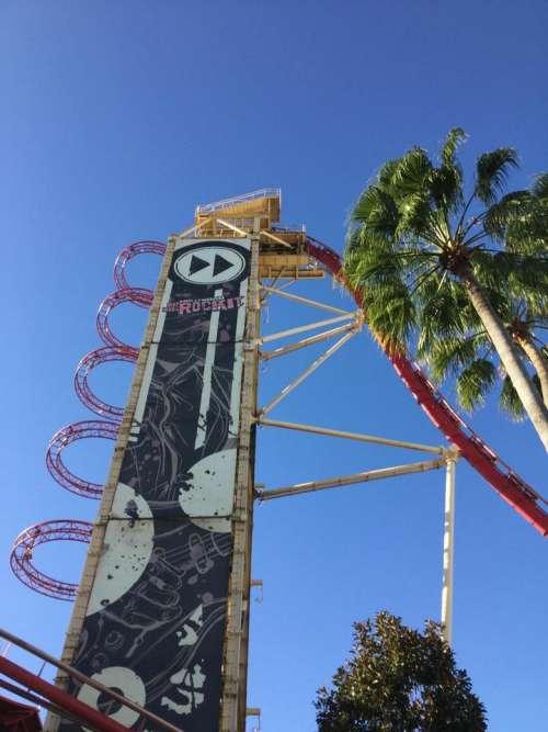 Roller coaster fair rides