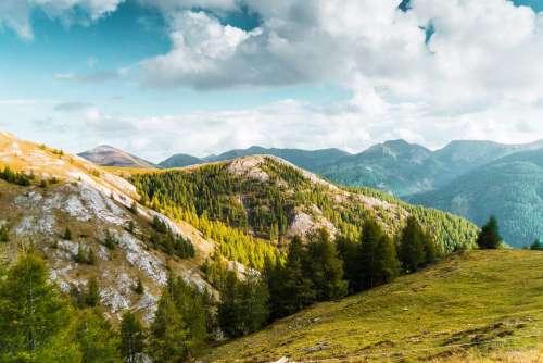 Beautiful Mountain Scenery in Austria