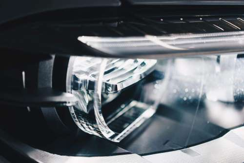 BMW Adaptive LED Lights Close-Up