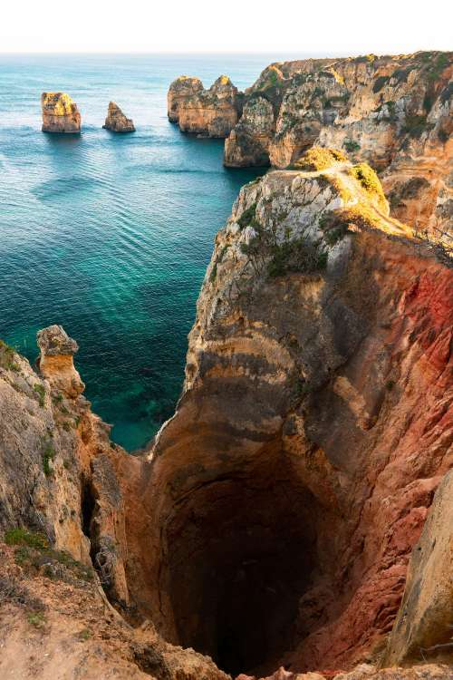 Hole in a Cliff