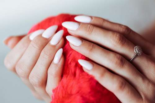 Nail Design Baby Pink Color