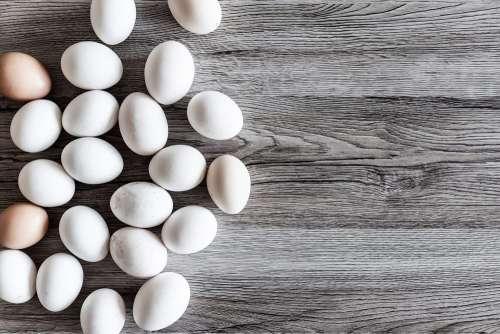 Natural White Eggs