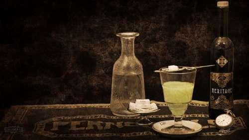 Absinthe Wormwood Alcohol Beverage Liquor Fennel