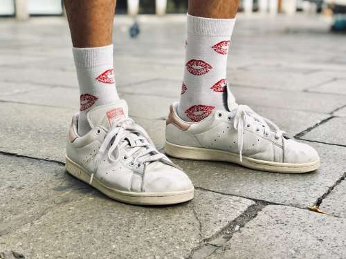 Adidas Stan Smith Socks Sneakers Man Fashion