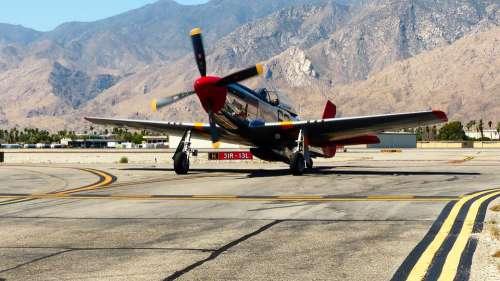 Aircraft War Propeller Military Aviation Flight