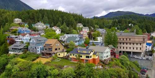 Alaska Ketchikan Destination Tourism Landscape