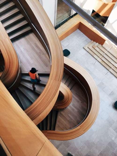 Architecture Building Contemporary Design Indoors