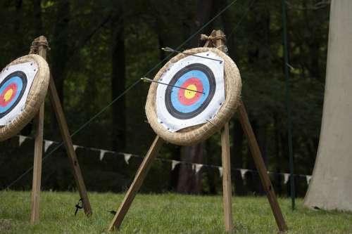 Arrow Target Range Sport Aim Hit Accuracy