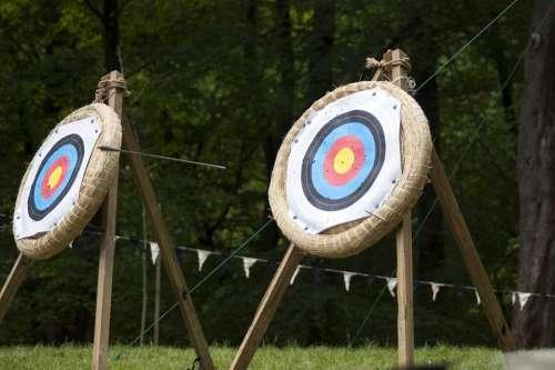 Arrow Flying Target Range Sport Aim Hit Accuracy