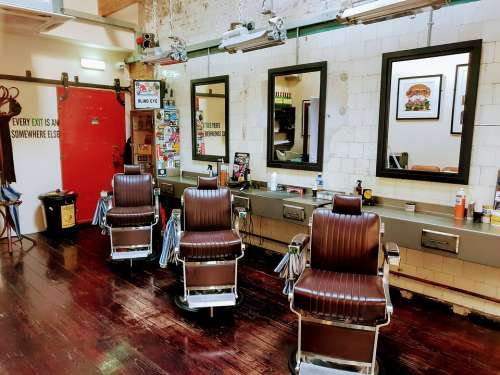 Barbershop Dublin Ireland Irish People History