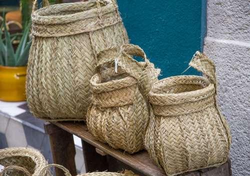 Baskets Artisan Basketry Fibers