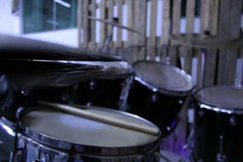 Battery Instrument Wood Drummer Jazz Band