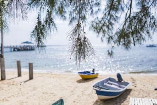 Beach Water Sand Relaxation Travel Sea Island