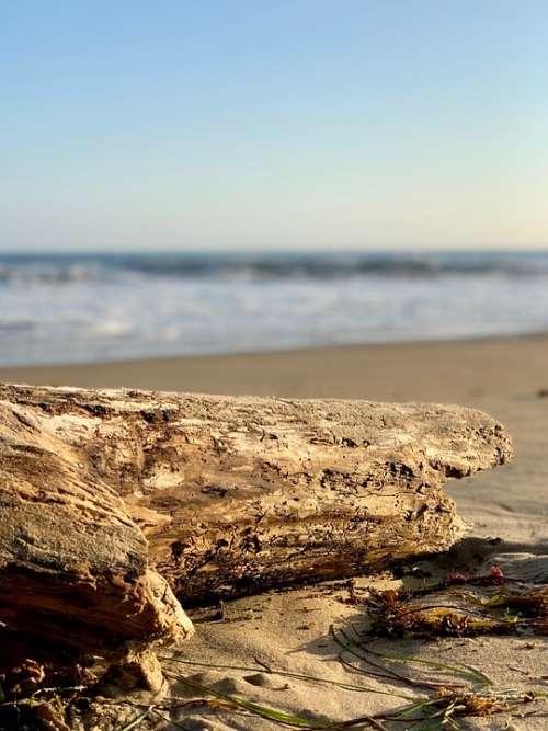 Beach Ocean Water Sand Coast Waves Seascape