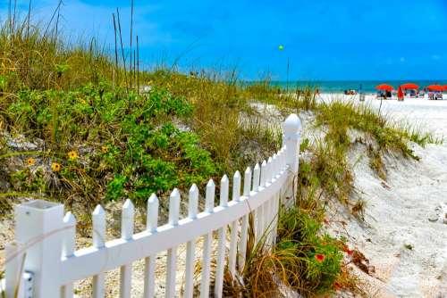 Beach Sand Seascape Waves Landscape Exotic