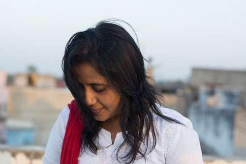 Beautiful Indian Woman Woman Indians Face Shy