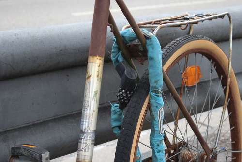 Bike Theft Castle Wheel Capping Close