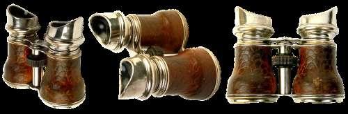 Binoculars Optics Appliance Old See Opera Glasses
