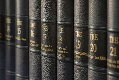 Books Library Literature Bookshelf Study Education