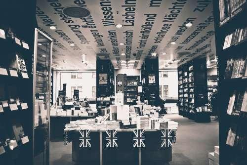 Bookstore Business Books Literature Read Sale