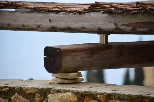 Botch Bar Construction Wood Work Truss Craft
