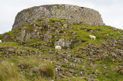Broch Tower Iron Age Residential Tower Historically