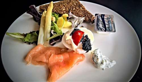 Brunch Danish Eat Meal Buffet Smoked Salmon