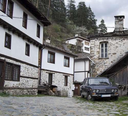 Bulgaria Shiroka Laka Village Traditional House