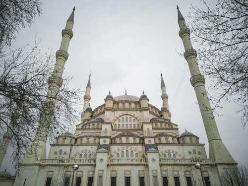 Cami Minaret Islam Prayer Fasting Ramadan