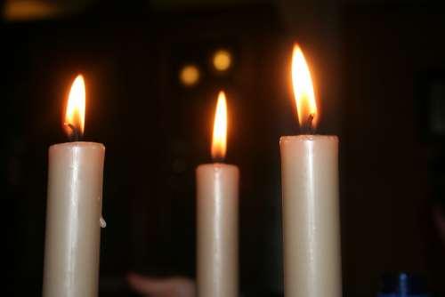 Candle Heat Light Festival Love Family Lights