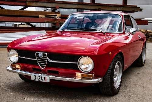 Car Alfa Romeo Auto Sports Car Classic Alpha Old