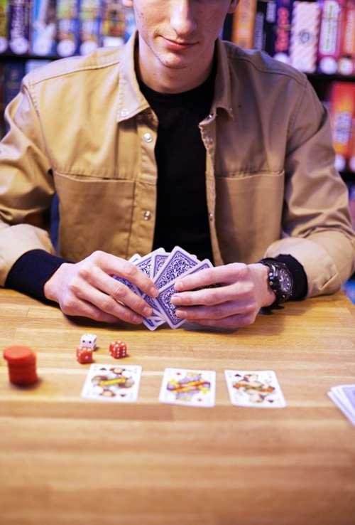 Cards Games Poker Casino Play Win Risk Joker