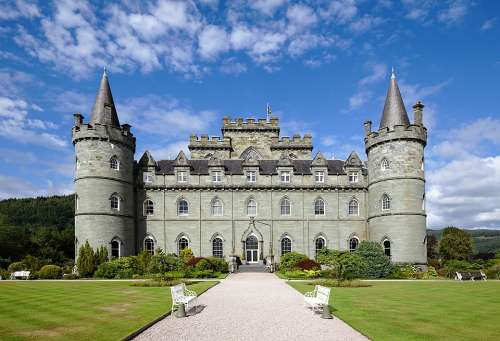 Castle Scotland Architecture Places Of Interest