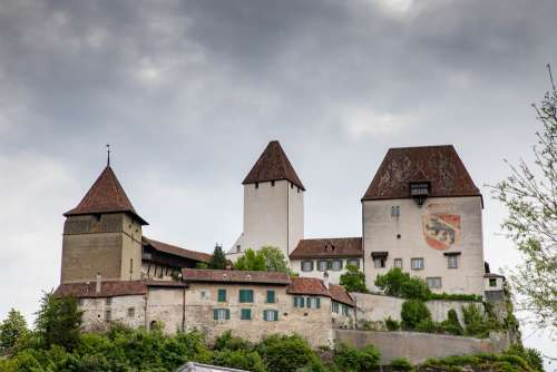 Castle Burgdorf Emmental Architecture